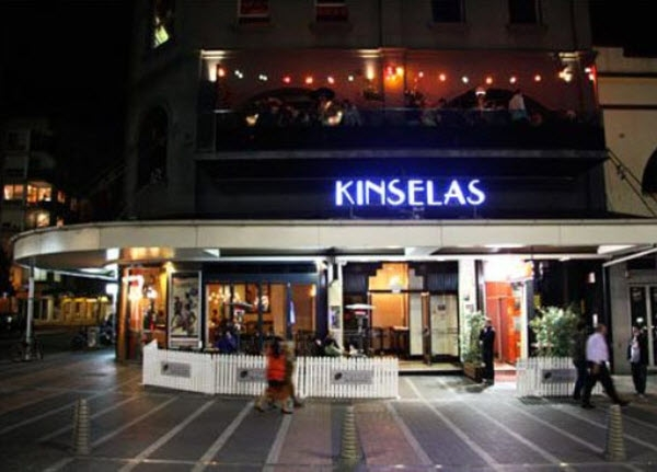 Chapel Bar At Kinselas Hotel, Oxford Street, Sydney